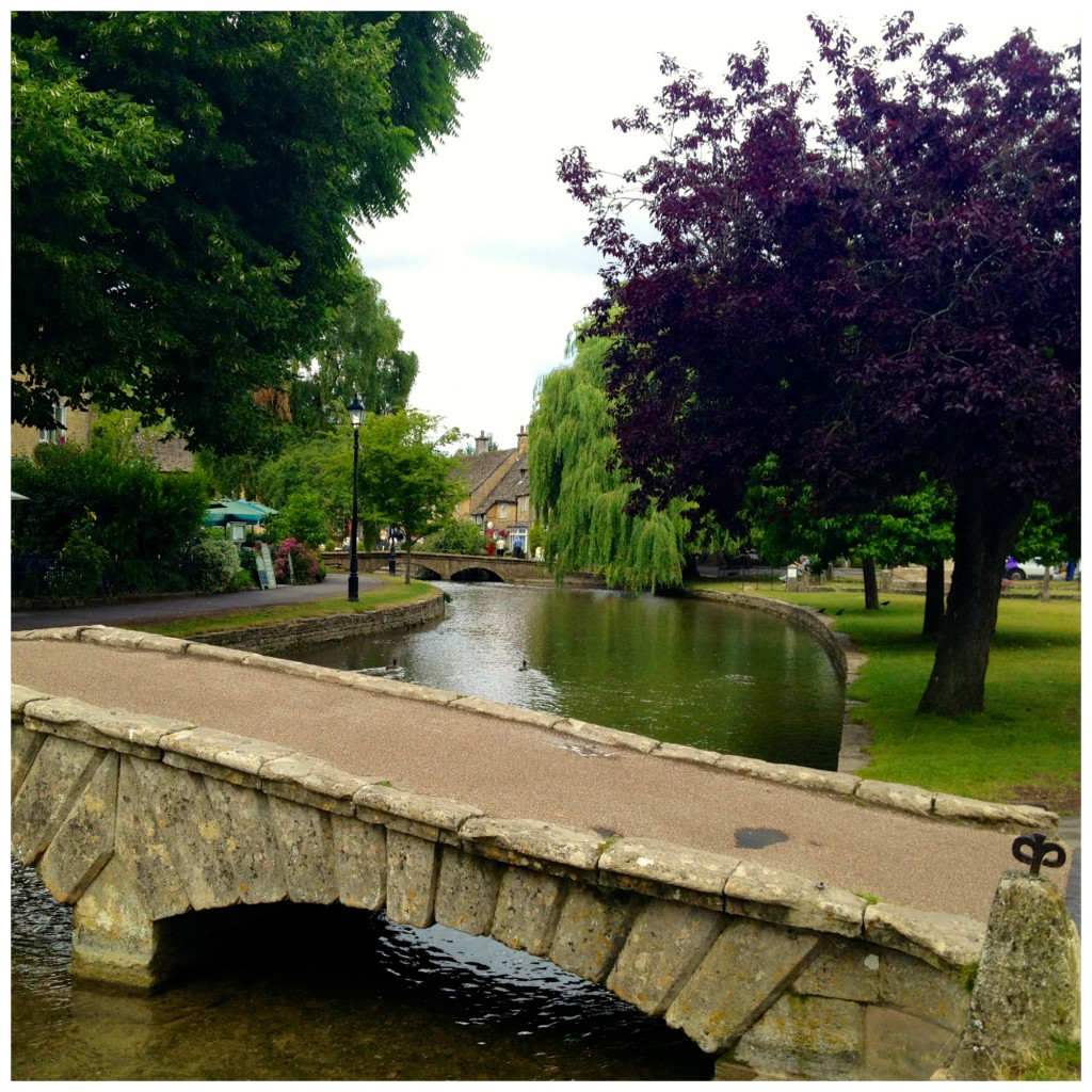 Beautiful Bourton-on-the-Water. One of my favorite villages we visited.