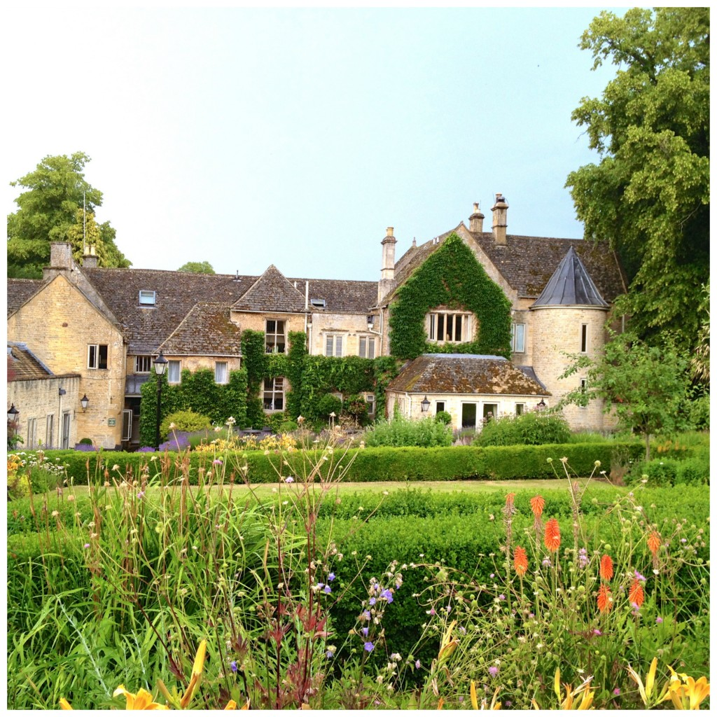 The beautiful Lords of the Manor in Upper Slaughter, Cotswolds. Where we called home for three relaxing nights.