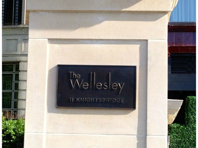 wellesley sign